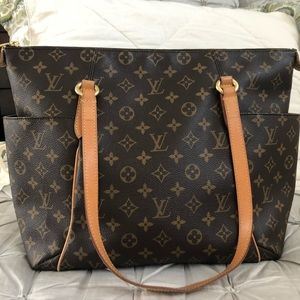 A beautiful gently used authentic LV handbag